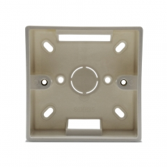 86*86mm Wall Mounted Junction Box for Curtain Blind Switch White Color Installation Box for LoraTap WiFi Curtain Switch