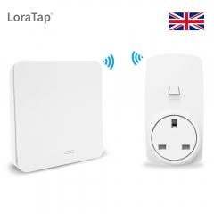 UK Wireless Socket Plug 16A with Kinetic Remote Control