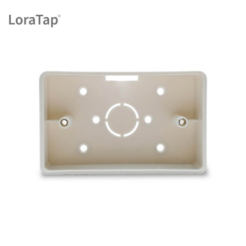 118×72mm Wall Mounted Junction Box for Curtain Blind Switch Box for US Standard WiFi Curtain Switch