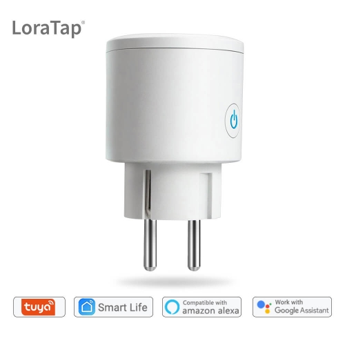 Wifi Smart EU Socket EU Plug 16A Voice Control with Google Home Alexa Echo App Timer and Remote Control the Devices